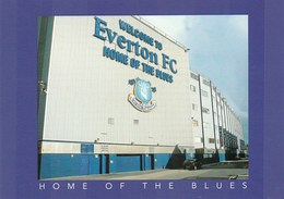 NEW & UNUSED POSTCARD - EVERTON F.C - HOME OF THE BLUES  (JUDGES) - Soccer