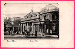 Uruguay - Montevideo - Teatro Solis - Animée - Ed. C. GALLI N° 768 - Uruguay