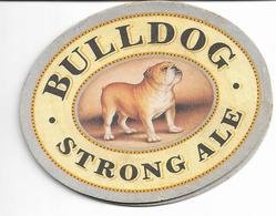 SOUS BOCKS  BULLDOG STRONG ALE - Beer Mats