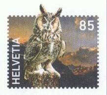 Schweiz GS 'Uhu' / Switzerland PSE 'Eagle Owl' **/MNH 2018 - Búhos, Lechuza