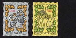 684660964 VATICAN 1982 POSTFRIS MINT NEVER HINGED POSTFRISCH EINWANDFREI SCOTT 705 706 ST AGNES OF PRAGUE 700TH DEATH AN - Luxembourg