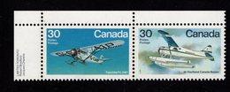 684661693  CANADA 1982 POSTFRIS MINT NEVER HINGED POSTFRISCH EINWANDFREI SCOTT 970A AIRPLANES - 1952-.... Règne D'Elizabeth II