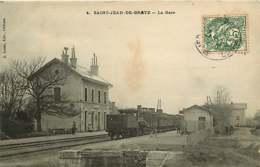 151218B - 45 SAINT JEAN DE BRAYE - La Gare - Train Loco Chemin De Fer - France