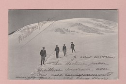 AK VS Gemmi Sommet Du Wildstrubel Ges 03.03.1908 Leukerbad Ed JJ #7161 - VS Valais