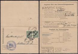 Germany - Dienstsache, Institut Fur Infectioskranheiten - Robert Koch. MiNr. 100 MeF. BERLIN 3.7.1924. - Allemagne