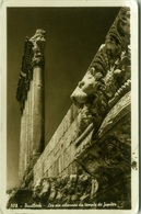 LEBANON - BAALBEK - THE SIX COLUMNS OF JUPITER TEMPLE - PHOTO SPORT - 1930s (BG1832) - Liban