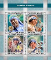S.Tome&Principe. 2018 Mother Teresa. (507a) - Mother Teresa