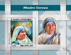 S.Tome&Principe. 2018 Mother Teresa. (507b) - Mother Teresa