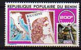 "Bénin N° 433 X Exposition Philatéliue Internatinale "" Riccione 78""  Trace De Charnière Sinon TB - Bénin – Dahomey (1960-...)"