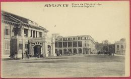 Empress Square Singapore Place De L'Impératrice Singapour 1900's (UNC)_S'pore-CPA Old_Collection - Singapore