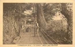 27 - CORMEILLES - La Corderie - Maison Jules Lechien En 1935 - Frankrijk