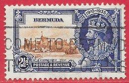 Bermudes N°90 2,5p Bleu-violet & Brun-rouge 1935 O - Bermudes