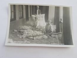 39814  - Eldorado Bagdad -    Willowing  Cotton -  Carte  Photo - Iraq