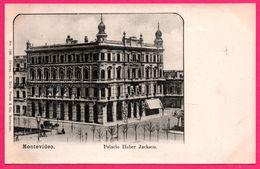 Uruguay - Montevideo - Palacio Heber Jackson - Palais - Animée - Ed. C. GALLI N° 766 - Uruguay