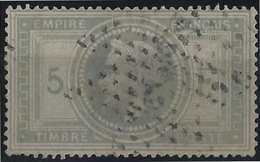 France Napoléon Lauré N°33 Oblitération étoile 2e Choix Mais Bel Aspect - 1863-1870 Napoléon III Lauré