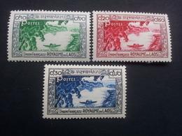 Laos - 1951 - Mi:LA 1-3 - Yt:LA 1-3**MNH - Look Scan - Laos
