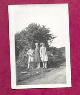 PHOTO 9 X 6,5 Cm De 1928.. JEUNES FILLES..PIN UP...2 Scans - Pin-up