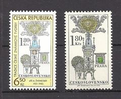 Czech Republic 2004 MNH ** Mi 386, 1957  Sc 3228, 1703 Czech Stamp Production Heritage Svengsbir. - Tchéquie