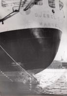 PHOTO ORIGINALE ( 13x18)LE DJEBEL DIRA Est Arrivé A Marseille Qui Avait Eté Plastiqué A BONE - Boten