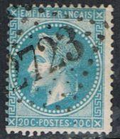 FRANCE : N° 29B Oblitéré (Napoléon III) - PRIX FIXE : 1/3 De La Cote - - 1863-1870 Napoléon III Lauré