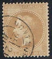 FRANCE : N° 28 A Oblitéré (Napoléon III) - PRIX FIXE  : 1/3 De La Cote - - 1863-1870 Napoléon III Lauré