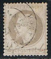 FRANCE : N° 27 B Oblitéré (Napoléon III) - PRIX FIXE  : 1/3 De La Cote - - 1863-1870 Napoléon III Lauré