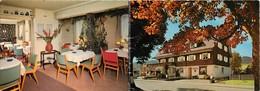 Gd Format :environ 15cms X10cms -ref Y247-allemagne -pension Silberdistel - Hinterzarten - Carte 2 Volets - - Hinterzarten