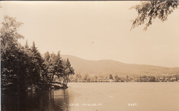 Real Photo Post Card RPPC - Vintage - Lake Fairlee Vermont USA - No. 805F - Excellent Condition Year 1948 (?) - 2 Scans - United States