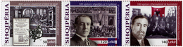 Albania Stamps 2018. Historic Events: Literature; Wilson USA; Kosovo. Set MNH - Albania