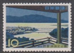 Japan SG870  1961 Lake Biwa-Quasi-National Park, Mint Never Hinged - Unused Stamps