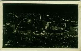 BRAZIL - SAO PAULO A NOITE - PHOTO POSTAL COLOMBO - RPPC POSTCARD 1948 - RED POSTMARK (BG1835) - São Paulo