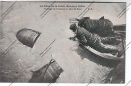 CPA PARIS Crue De La Seine : Sauvetage De Tonneaux Au Quai De Bercy - Inondations De 1910
