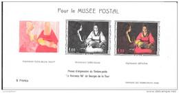 """BLOC FEUILLET N° 1479b - MUSEE POSTAL  -  GEORGES DE LA TOUR  """"LE NOUVEAU NE"""" - Neufs"""