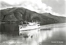 Gd Format :environ 15cms X10cms -ref Y245- Norvege - Norway -bateaux -bateau Sognefjord -balestrand - - Norvège