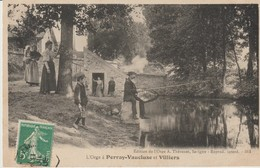C P A. -  L'ORGE A PERRAY VAUCLUSE ET VILLIERS - A. THEVENET - ANIMEE - 314 - France