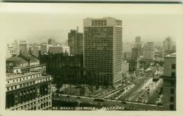 BRAZIL - SAO PAULO - PANORAMA - RPPC POSTCARD 1940s (BG1837) - São Paulo