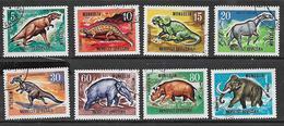 Mongolia 1967 Prehistoric Animals Used - Mongolia