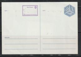 Nederland Briefkaart 1971   Geuzendam Nr. 291 - Postal Stationery
