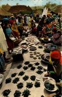 Afrique Noire - Marché Africain - Cartes Postales