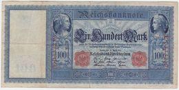 Germany P 42 - 100 Mark 21.4.1910 - VF - [ 2] 1871-1918 : Impero Tedesco