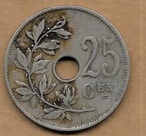 25 Centimes Albert I 1929 FL - 05. 25 Centimes