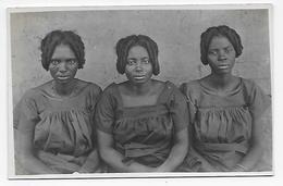 Afrique Congo Belge  Femmes Coiffure (vers 1927) Photo Carte - Africa