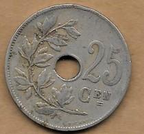 25 Centimes Albert I 1913 FL - 05. 25 Centimes