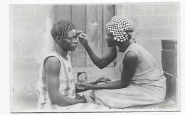 Afrique Congo Belge  Femmes Coiffure Scarification Photo Gabriel Panda Katanga (vers 1927) Photo 14x9 - Africa