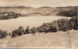 Real Photo RPPC - Vintage - Lake Fairlee Vermont From Shanty Shane - Excellent Condition - Year 1948 (?) - 2 Scans - United States