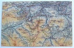 """Österreich / Austria: Dr Peuckers Farbenplastische Wanderkarten """"BERGHEIL"""" - Blatt Semmering Sonnwendstein - Cartes Géographiques"""