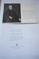 "Carte Postale Publicitaire ""coramine"". Luigi Cornaro. - Belgique"