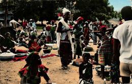 Marché Africain - Postcards