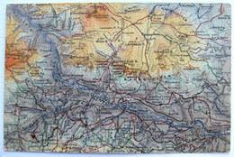 "Österreich / Austria: Dr Peuckers Farbenplastische Wanderkarten ""BERGHEIL"" - Blatt Payerbach-Gahns - Cartes Géographiques"