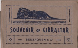 Gibraltar Carnet Souvenir Avec 14 Vues. Voir Les Scans - Gibraltar